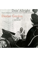 BLUE NOTE Dexter Gordon ‎– Doin' Allright LP