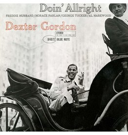 BLUE NOTE Dexter Gordon – Doin' Allright LP (2019 Reissue), 180g