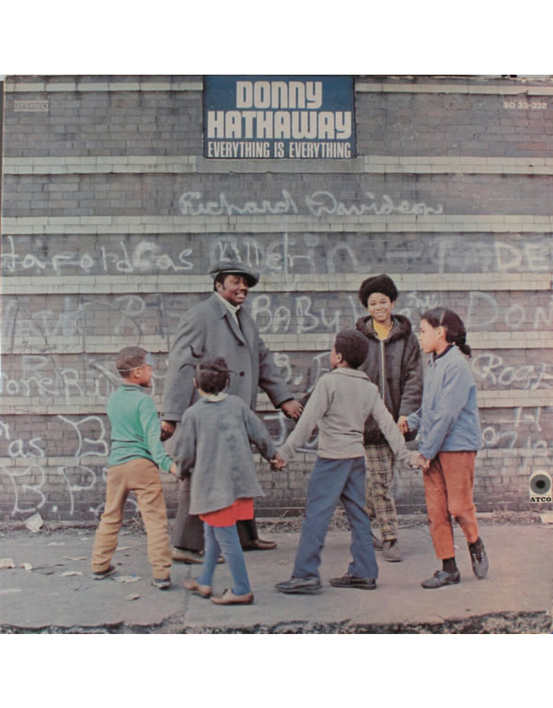 FS Donny Hathaway ‎– Everything Is Everything LP