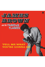 FS James Brown & The Famous Flames ‎– Tell Me What You're Gonna Do LP
