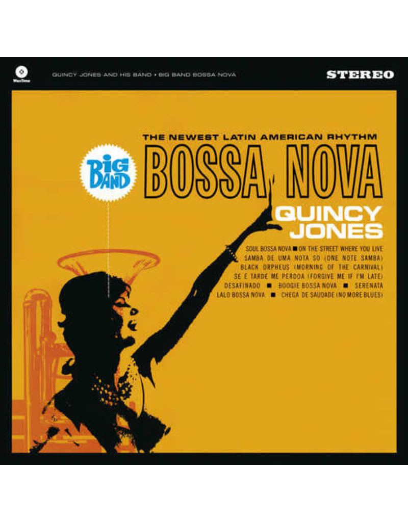JZ Quincy Jones ‎– Big Band Bossa Nova LP