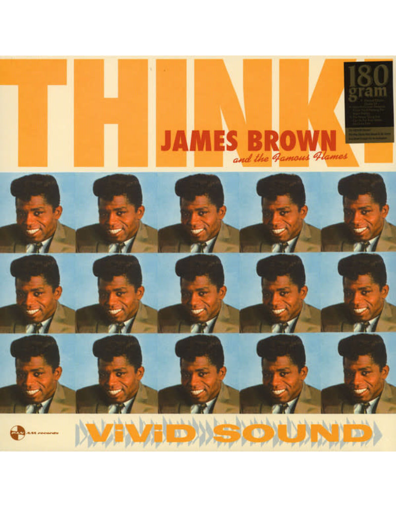 FS James Brown & His Famous Flames ‎– Think! LP