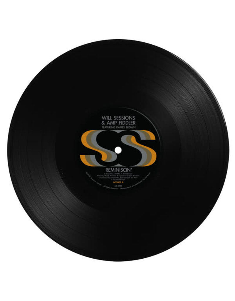 FS Will Sessions & Amp Fiddler Featuring Dames Brown ‎– Reminiscin' 10""