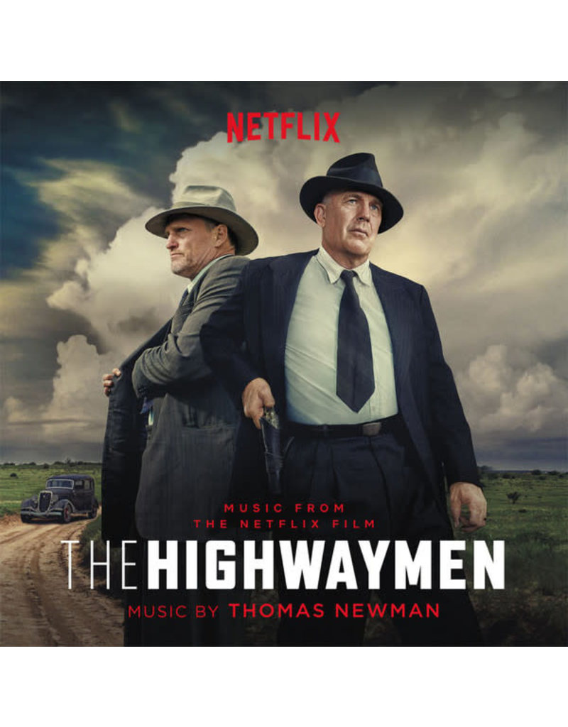 Thomas Newman – The Highwaymen (Original Motion Picture Soundtrack) [180g/Limited Blood Red Vinyl] 2LP