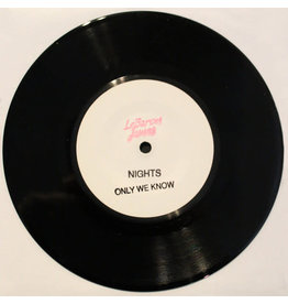 DC LeBaron James ‎– Nights / Only We Know 7""