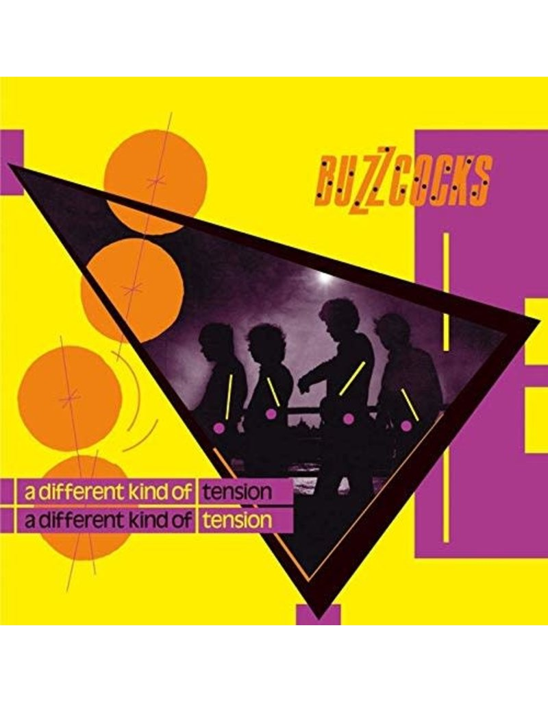RK Buzzcocks ‎– A Different Kind Of Tension (Deluxe Yellow Vinyl) LP