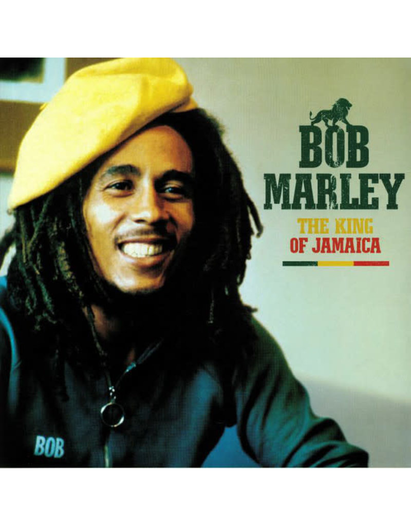 RG Bob Marley ‎– The King Of Jamaica LP