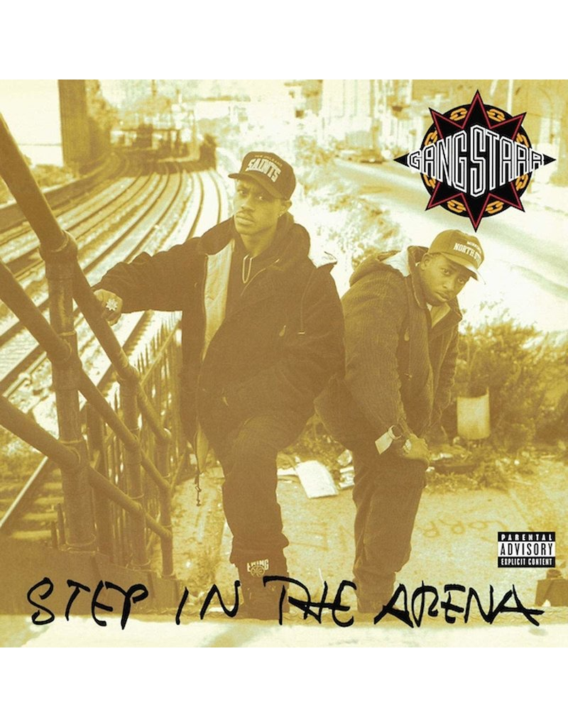 HH Gang Starr ‎– Step In The Arena 2LP