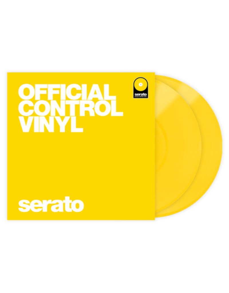 SERATO PERF SERIES CONTROL VINYL - YELLOW (PAIR)