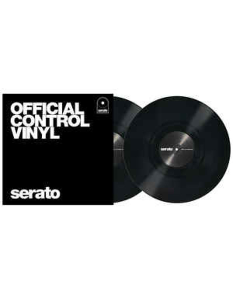 SERATO - PERF SERIES CONTROL VINYL - BLACK DOUBLE