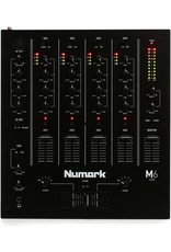 NUMARK NUMARK - M6 USB 4-CHANNEL USB DJ MIXER