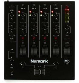 NUMARK NUMARK - M6 USB 4-CHANNEL USB DJ MIXER