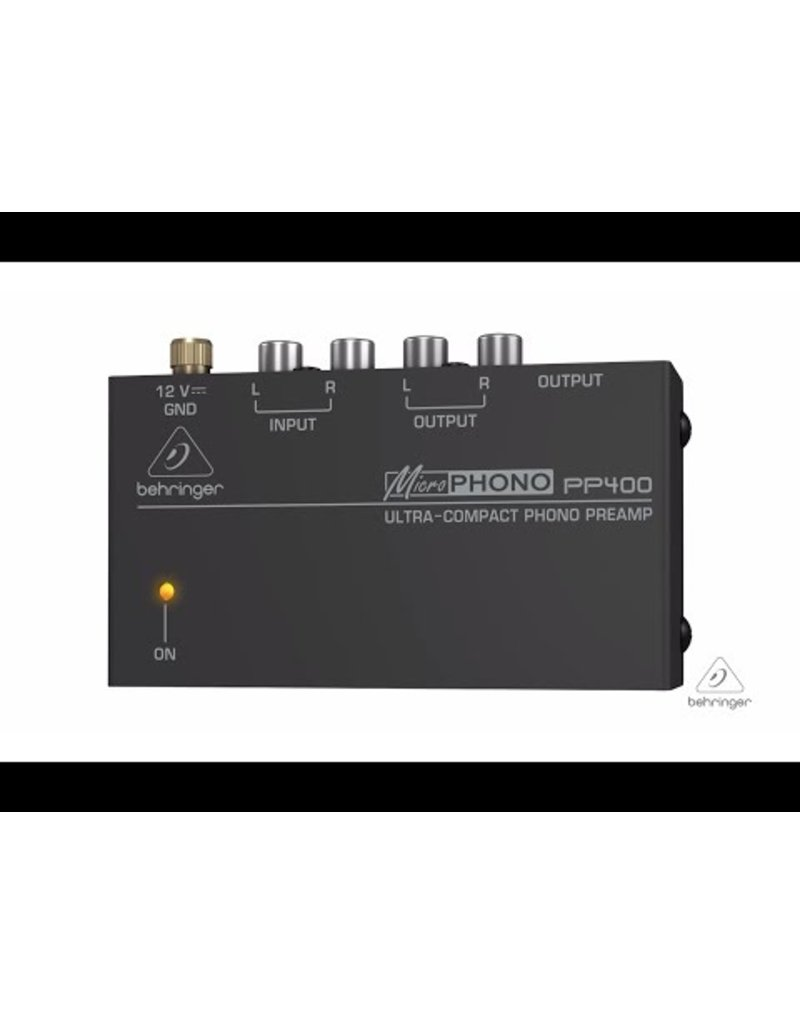 BEHRINGER BEHRINGER - MICROPHONO PP400 PHONO PREAMP
