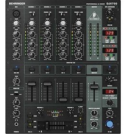 BEHRINGER Behringer Pro Mixer DJX750 5-Channel DJ Mixer