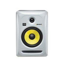 "KRK - Rokit GENERATION 3 6"" Studio Monitor 120V, white finish"