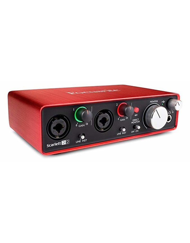 Focusrite FOCUSRITE SCARLETT 2i2 AUDIO INTERFACE (generation 3)