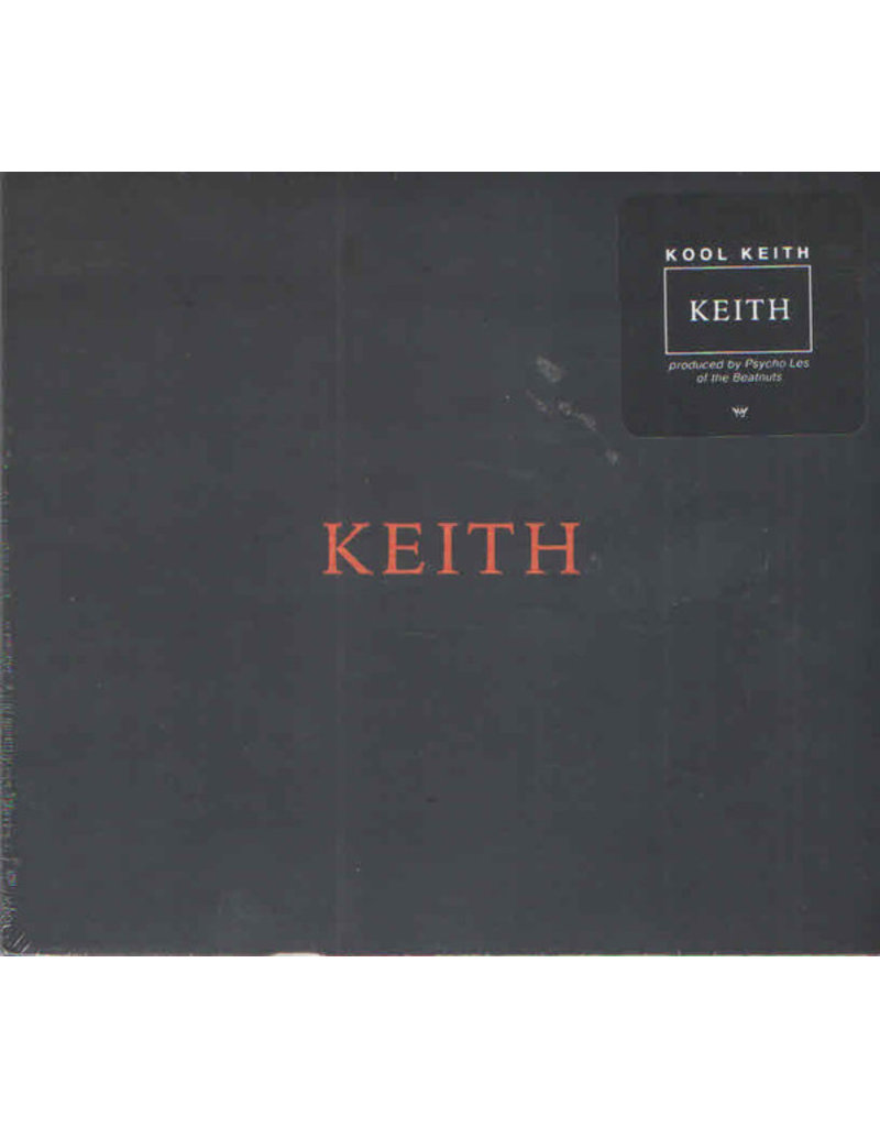 Kool Keith ‎– Keith CD