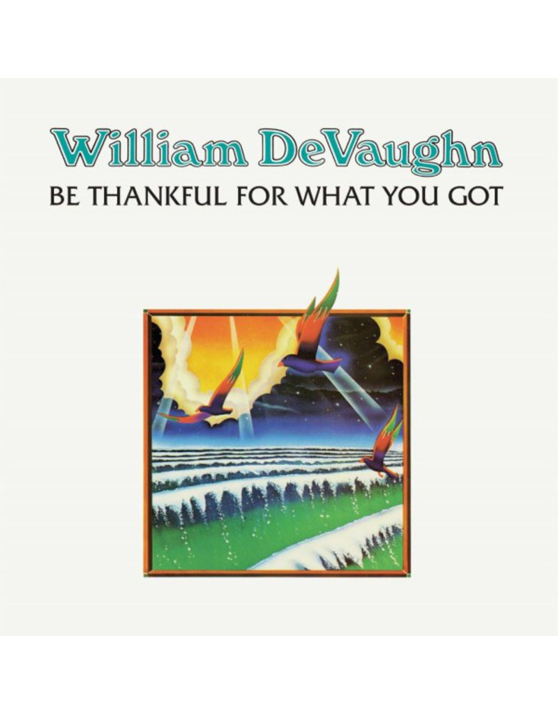 William DeVaughn – Be Thankful For What You Got, LP, Reissue