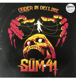 Sum 41 – Order In Decline LP, Limited Edition, Orange and Yellow with Black Splatter