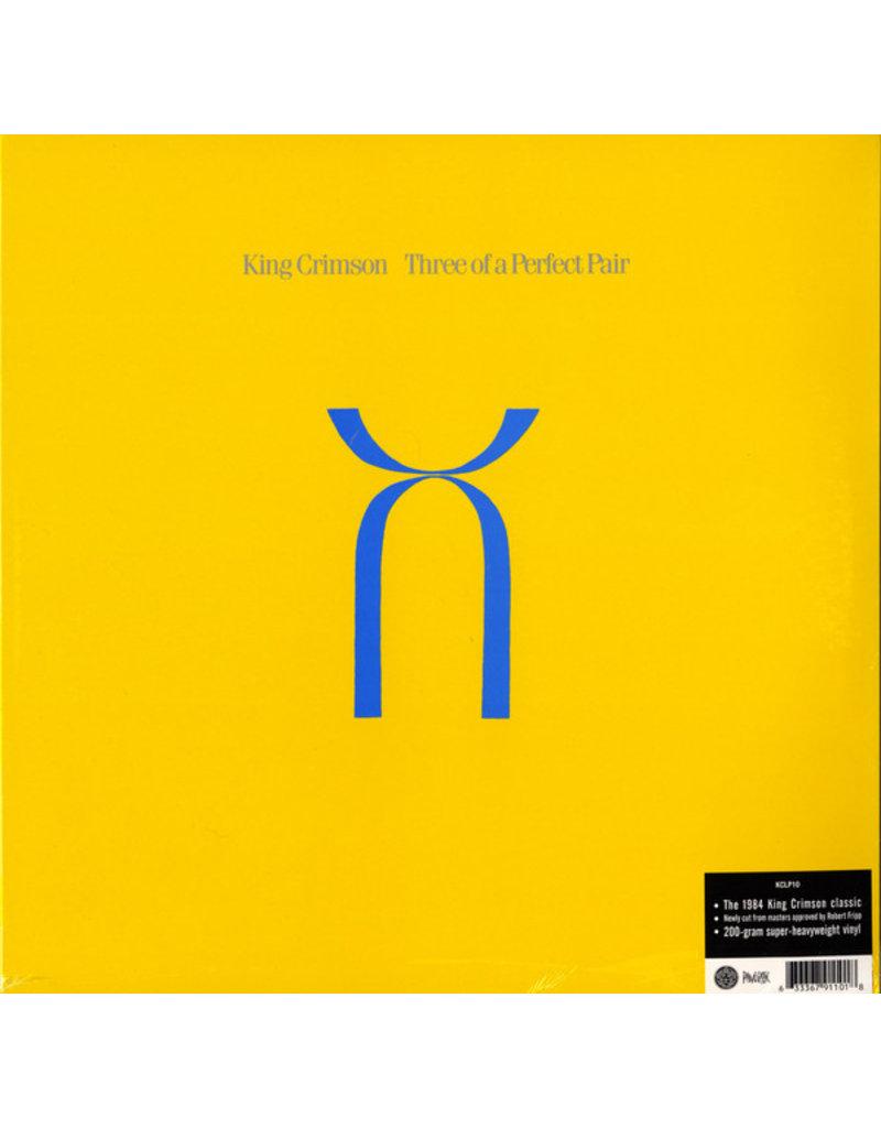 King Crimson – Three Of A Perfect Pair LP, Reissue, 200g