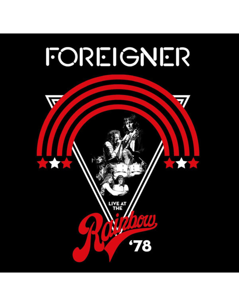 Foreigner ‎– Live At The Rainbow'78 2LP, Compilation