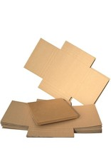 N/A 12in Record Shipping Mailers - Cardboard Multi-Depth