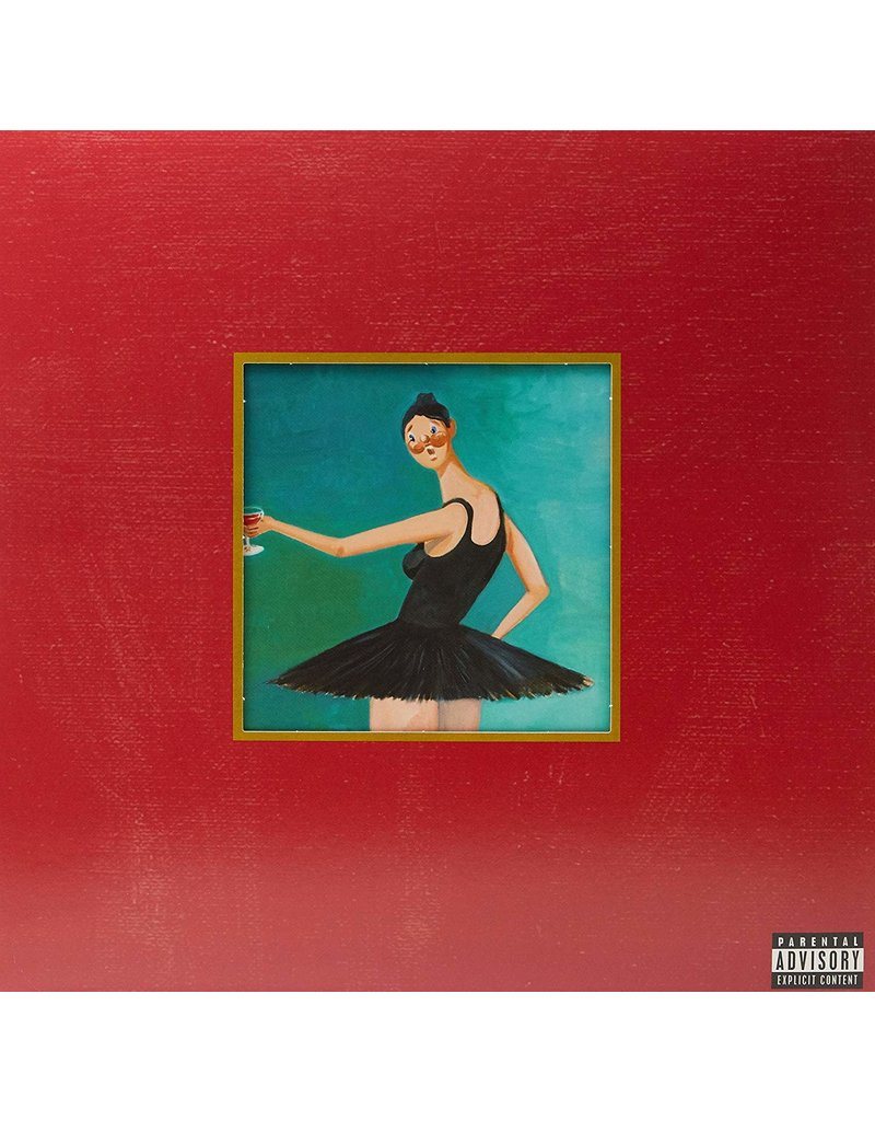 HH Kanye West ‎– My Beautiful Dark Twisted Fantasy 3LP