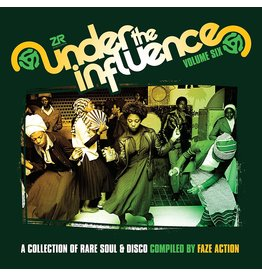 DC Faze Action ‎– Under The Influence Volume Six (A Collection Of Rare Soul & Disco) 2LP