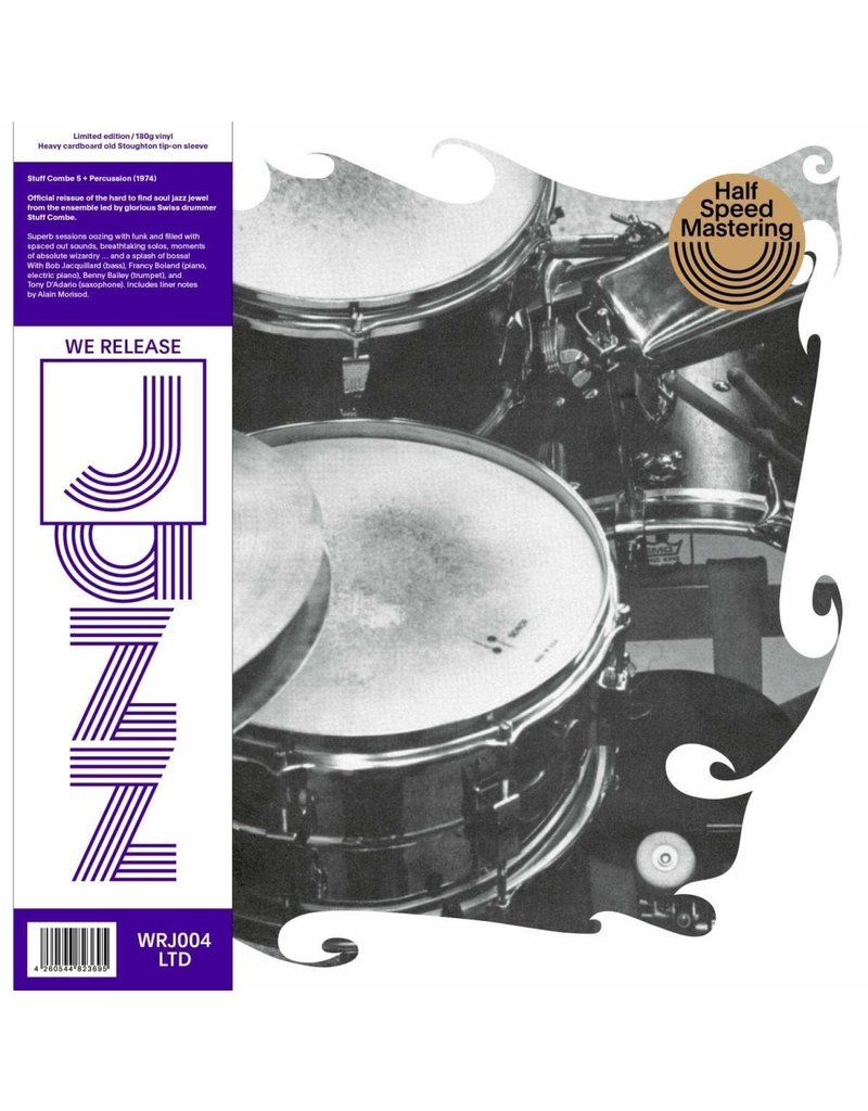 JZ Stuff Combe ‎– Stuff Combe 5 + Percussion (Half-Speed Mastering) LP