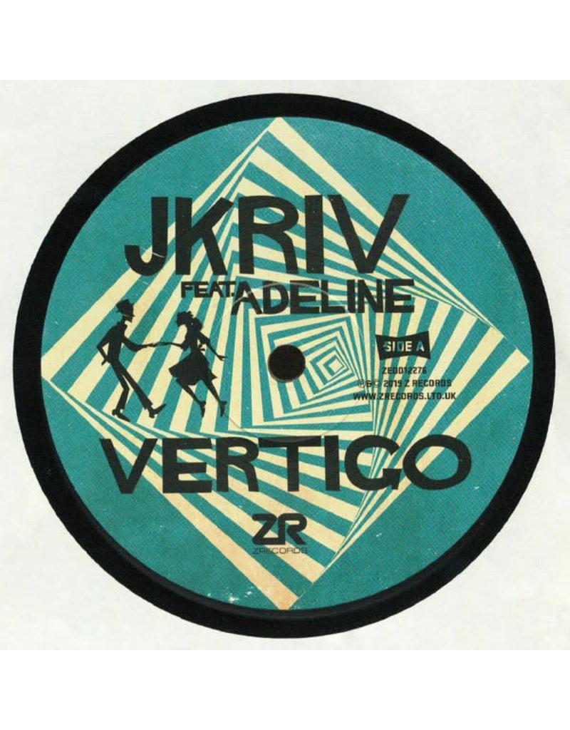 "HS JKriv Feat. Adeline - Vertigo 12"" (2019)"