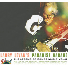 """DC Larry Levan – Larry Levan's Paradise Garage (The Legend Of Dance Music Vol. 3) 3x12"""""""