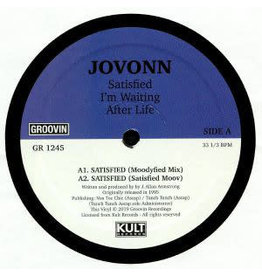 """HS Jovonn – Satisfied / I'm Waiting / After Life 12"""""""
