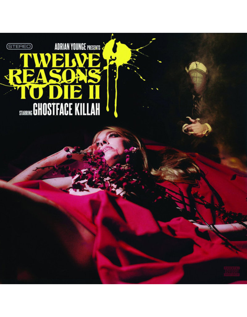 HH GHOSTFACE KILLAH - 12 REASONS TO DIE II LP
