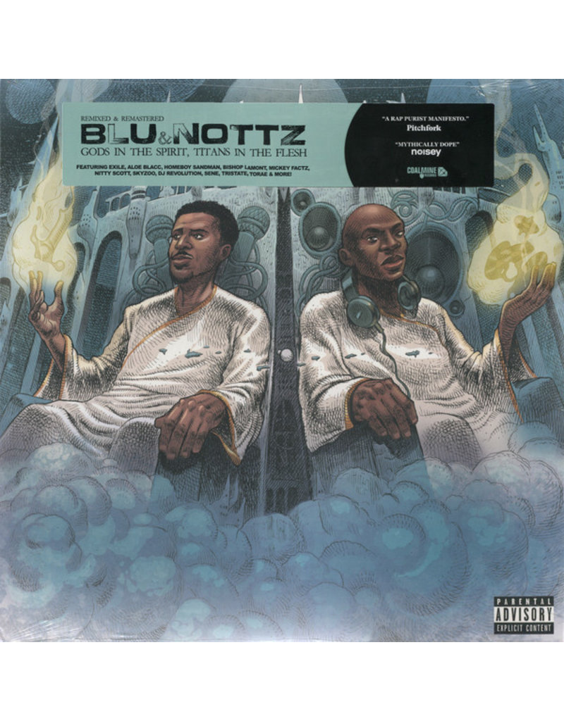 Blu & Nottz ‎– Gods In The Spirit, Titans In The Flesh LP, Remastered, Remixed