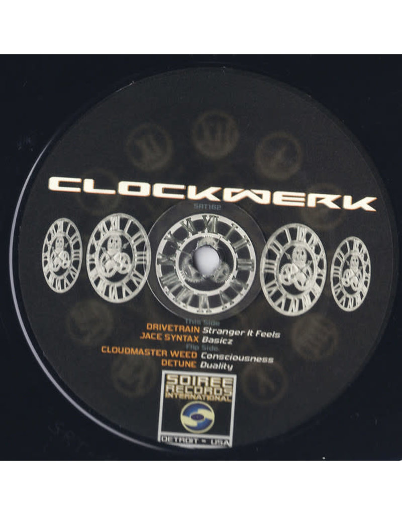 HS Various Artists ‎– Clockwerk 12""