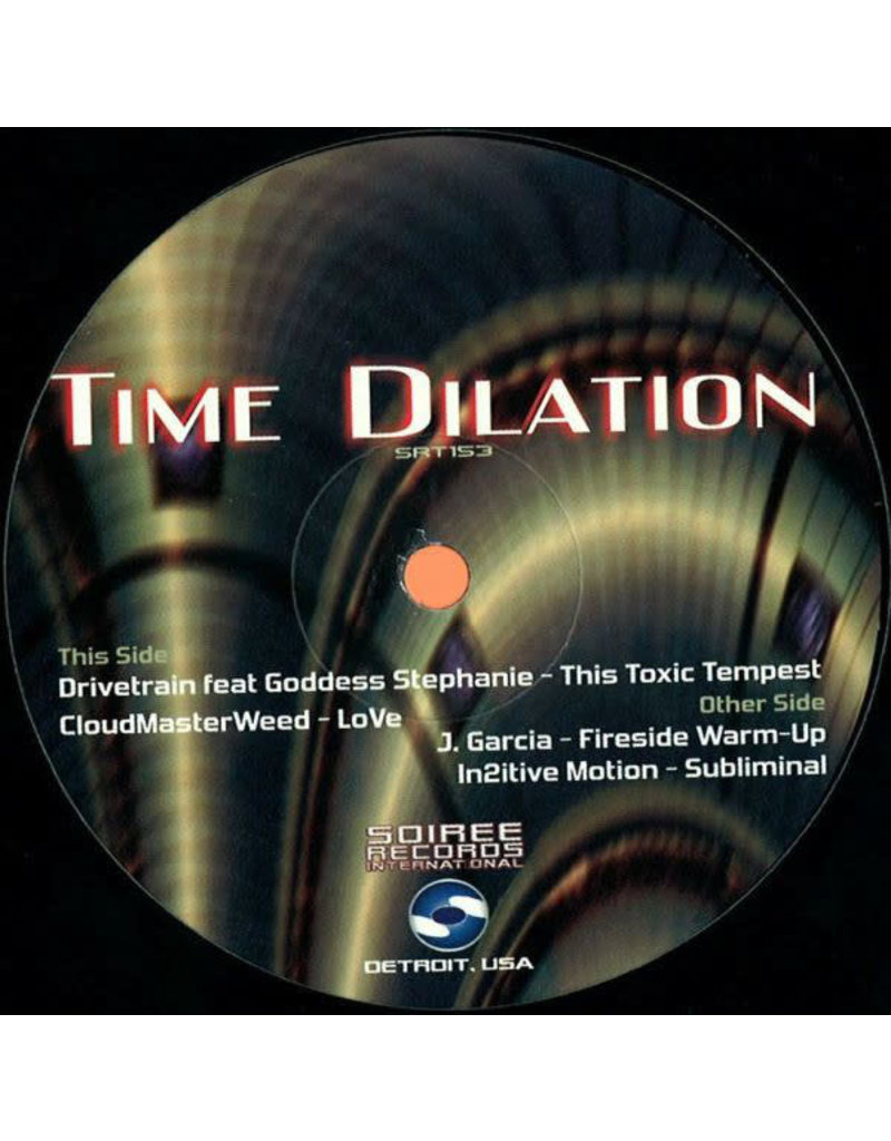 HS Various Artists ‎– Time Dilation 12""