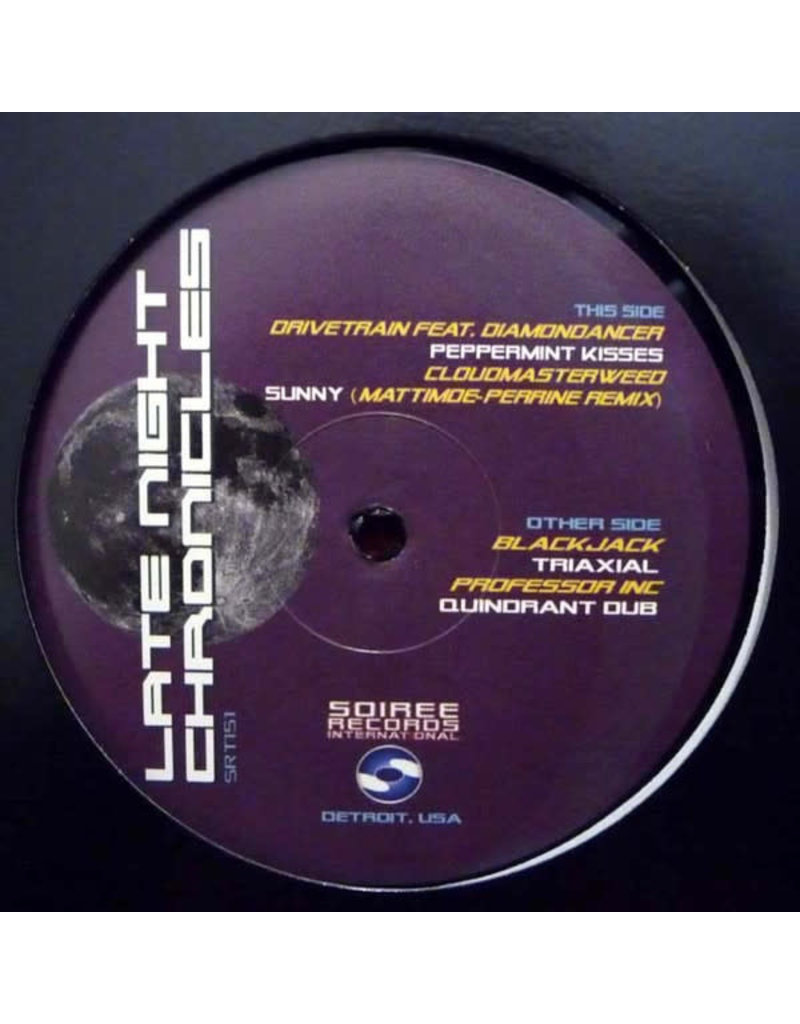 """HS Various Artists - Late Night Chronicles 12"""" (2011)"""