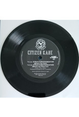 "Citizen Kane ‎– Structure Foundation (What's The Plan) 7"", Limited Edition"