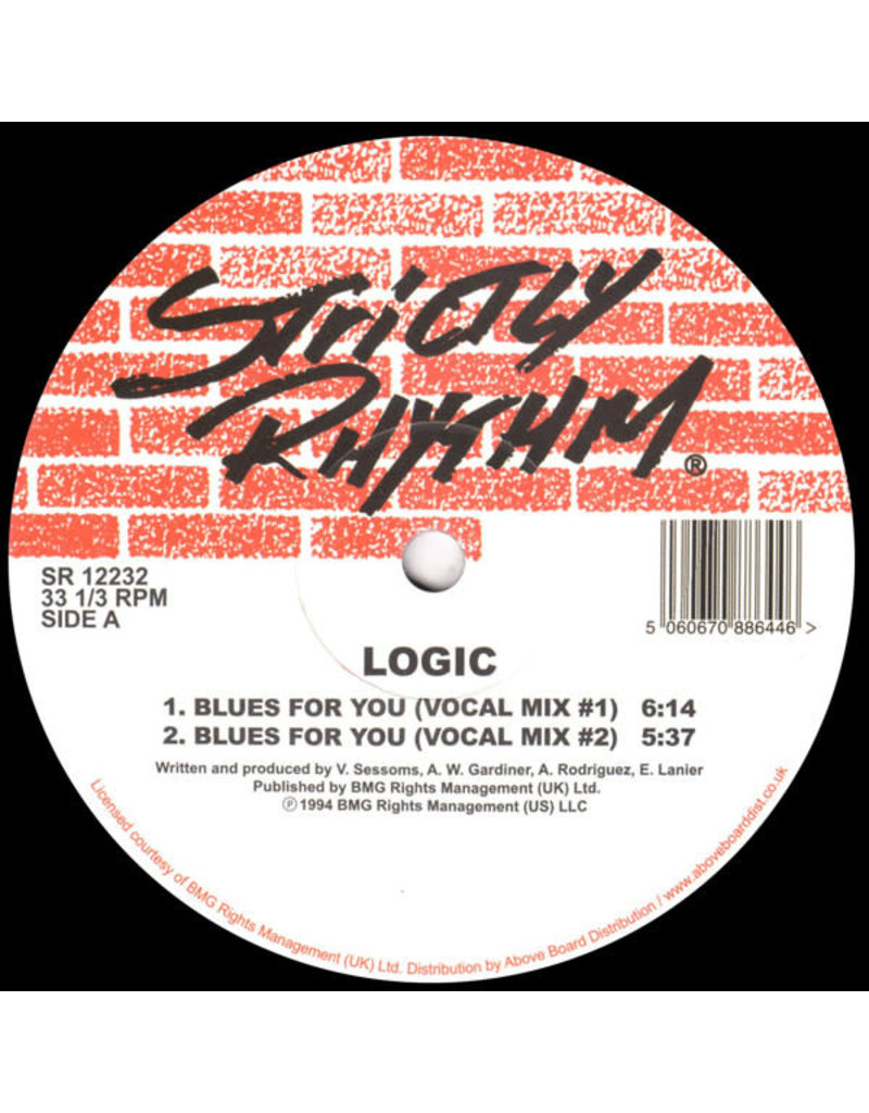 """HS Logic – Blues For You 12"""""""