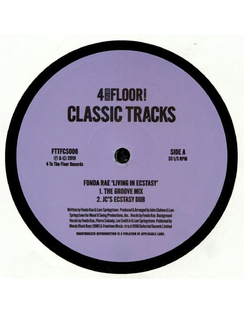 """HS Various Artists – 4 To The Floor Classics Volume 6 12"""""""