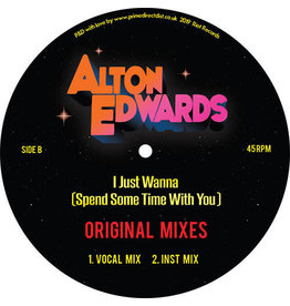 FS Alton Edwards ‎– I Just Wanna (Spend A Little Time With You) 12""