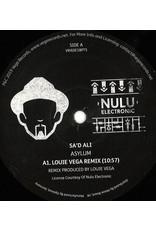 "HS Sa'd Ali – Asylum (Louie Vega Remix) 12"""