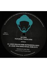 "HS Da Capo Featuring Tshepo King / AmFlow Featuring Koffee – Afrika / Raw Uncut (feat Louie Vega Remixes) 12"""