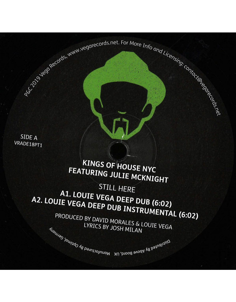 """HS Kings Of House NYC Featuring Julie McKnight – Still Here (ADE 2018 Edition) 12"""""""