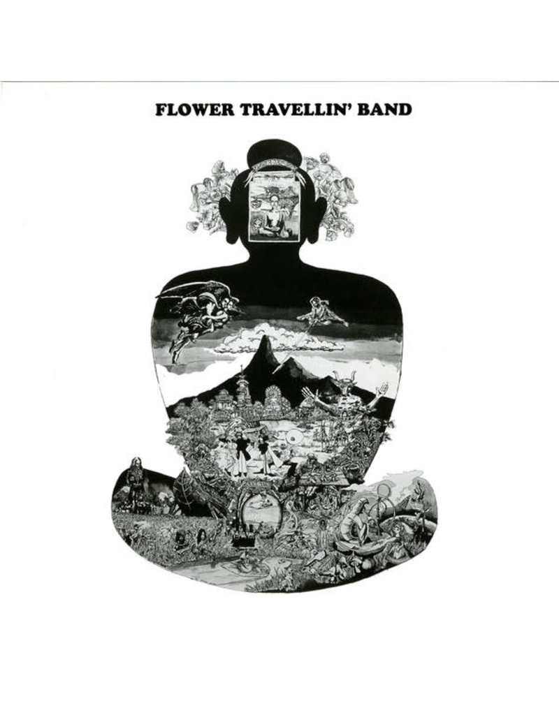 RK Flower Travellin' Band ‎– Satori LP