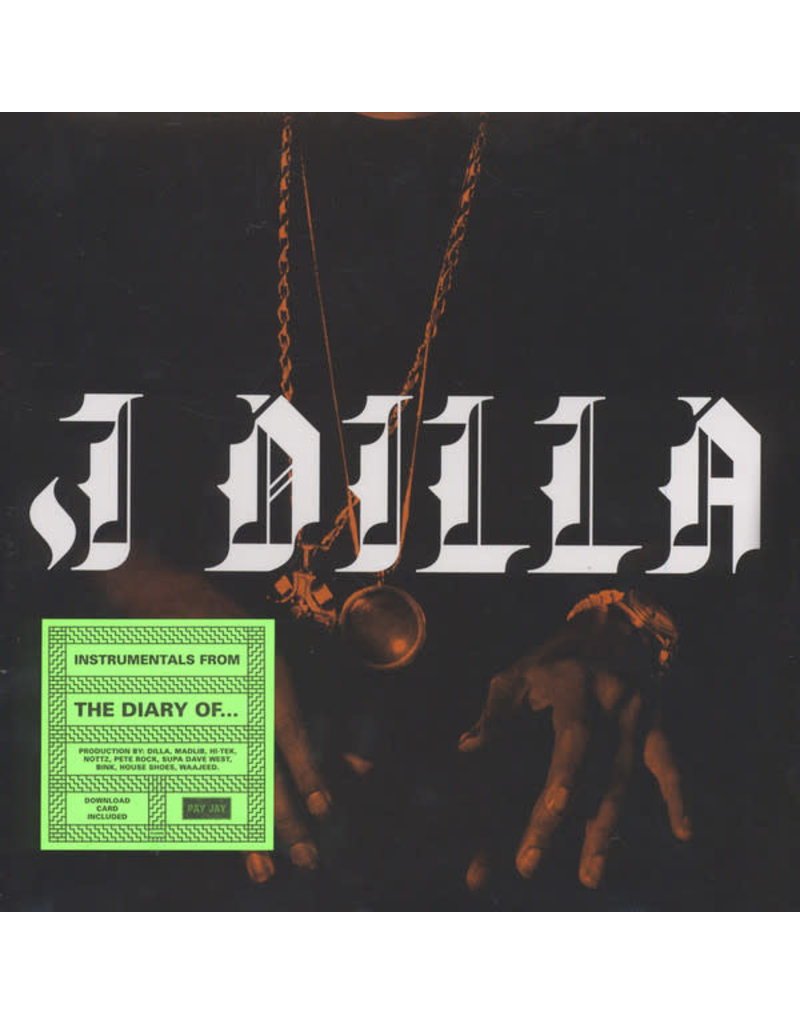 HH J Dilla ‎– The Diary (Instrumentals) LP