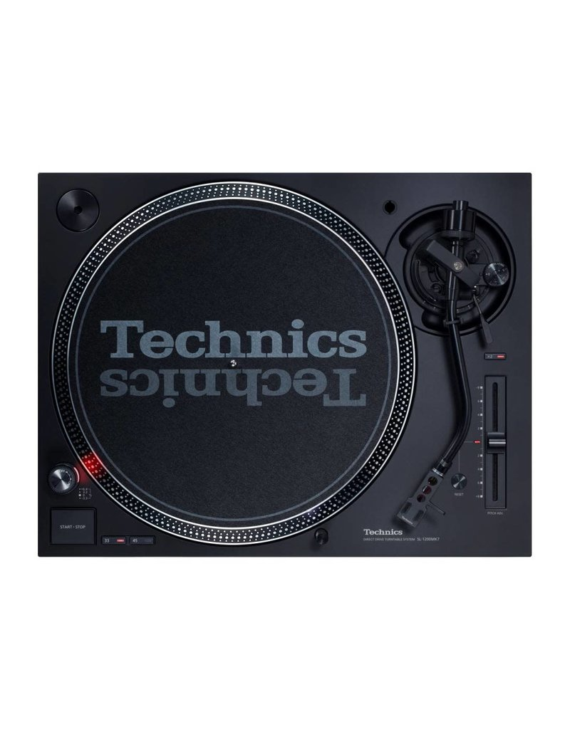 Technics SL-1200MK7 Turntable with Coreless Direct Drive Motor - Black