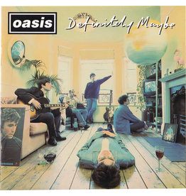 RK Oasis ‎– Definitely Maybe (Limited Edition 25th Anniversary Coloured Vinyl) 2LP