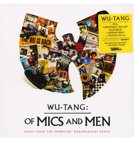 HH Wu-Tang Clan ‎– Wu-Tang: Of Mics And Men LP