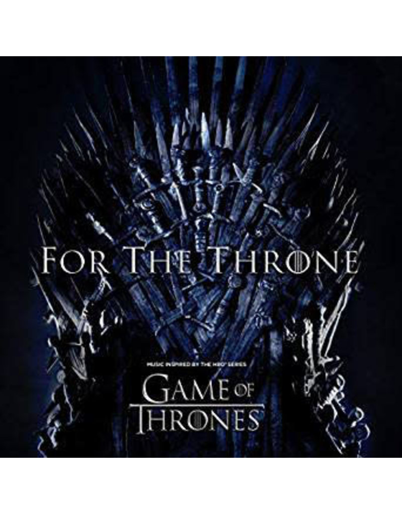 RK Various Artists ‎– For The Throne (Music Inspired By The HBO Series Game Of Thrones) LP